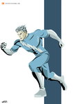 Quicksilver (Avengers) by FeydRautha81