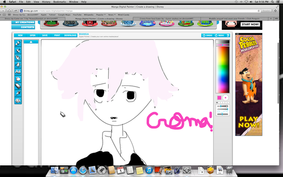 My drawing of Crona from Soul Eater by Lpslover7777