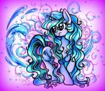 Commission: Crystal Cascade by frostykat13