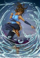 Kickass Korra by Acaciathorn