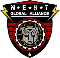 Transformers NEST Insignia by viperaviator