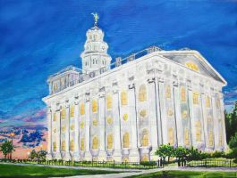 Nauvoo, IL LDS Temple Updated by Ridesfire