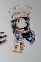 Chibi Caitlyn by Lighane