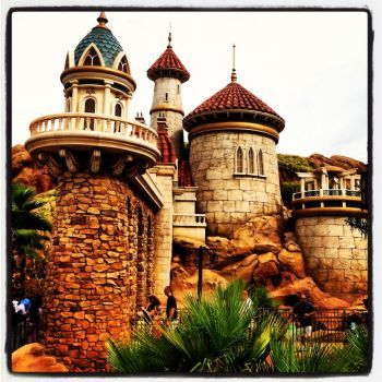 Prince Eric's Castle by Zzyzx1999