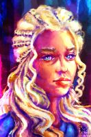 Game Of Thrones: Daenerys Targaryen by Salma-H