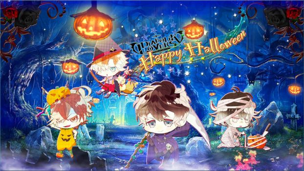 Diabolik Lovers - Happy Halloween by Mukami Bros by xClerithFan1x