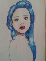 Drawing Girl Style Minimalist by Anystart by Anystart01