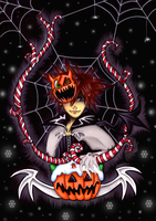 Sora:Welcome to Halloween Town by NailoSyanodel