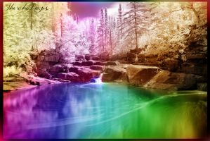 The River Of Colors by ShewhoReaps