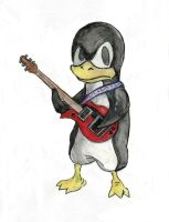 Dudes Penguin by shadowolf2k