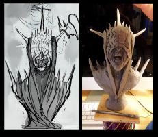 Mouth of Sauron wip by redtrackz