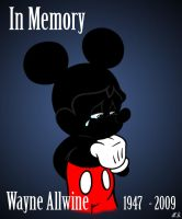 In Memory - Wayne Allwine by ColorfulArtist86