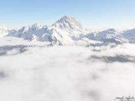 Above the Clouds by HarelForge