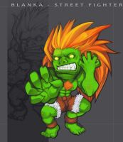 Blanka - Street Fighter by vmat