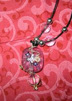 Butterfly on bead by Rolary