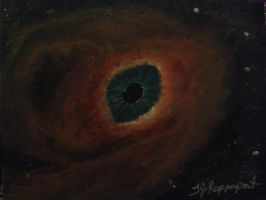 Eye Nebula by tjrappaport