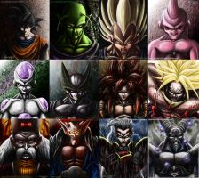 dbz by AtomiccircuS