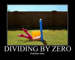 Poster - DIVIDING BY ZERO by E-n-S