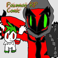 Pokemon rp comic cover by ShadowTerra345
