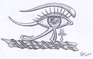 Eye of Horus Revisited by tattoo-parlour