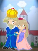 173- King and Queen Toadstool by Silverlegends