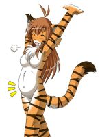 Tubby Tiger by Twokinds
