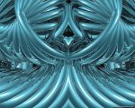 Symmetrical Abstract 1 by VickyM72