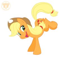 Apple Buckin is What I Do by nanook123