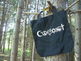 Coexist Bag -take 2 by estranged-illusions