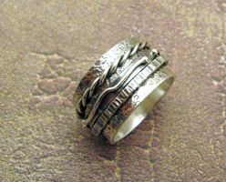 Men's Kinetic Ring by kimistry3