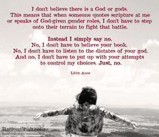 On feminism and religion... by rationalhub