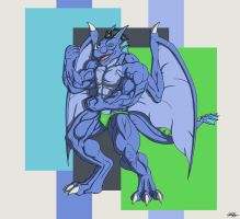 Commission: Massive with Veins by TargonRedDragon