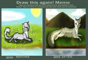 Draw this again Meme by icrystalline