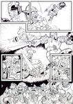 Transformers: The Turn Of The Wheel, Page3 INKS by Natephoenix