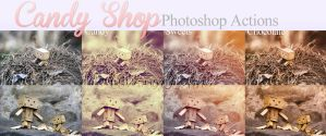 Candy Shop photoshop actions by AssassinLenna