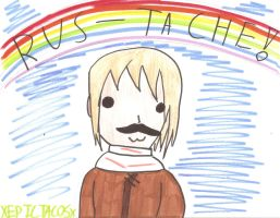 RUSS-TACHE!!!!! by XEPICTACOSx