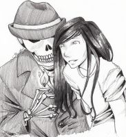 Skulduggery Pleasant by chrysalisgrey