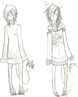 Adoptable Giveaway: Sweater babies /CLOSED/ by octopus-jizz