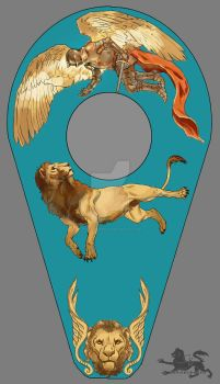 The Shield of Michael by lupodirosso