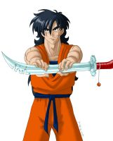 Yamcha's keyblade by YBP