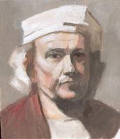 Study after Rembrandt by geors