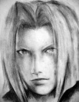 Sephiroth - Crisis Core by firewyvern91