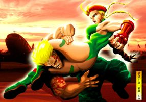CAMMY VRS GUILE by Gorgoncult