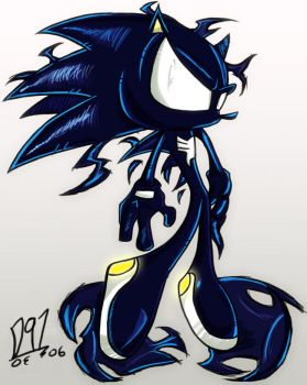Symbiote Hedgehog by Dante91