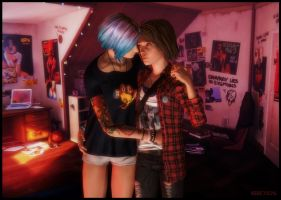 Chloe and Max by Abbeysisland