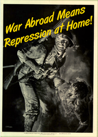 War Abroad Means Repression At Home by poasterchild