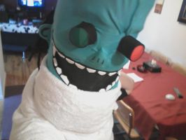 Dr. Loboto Mask WIP by Icequeenkitty