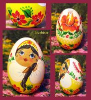 My first Matryoshka/Babushka by lovebiser