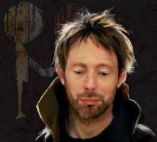 Thom Yorke by CyanideSunflower
