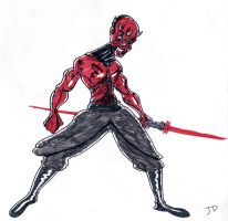 Darth maul by TheNoirGuy